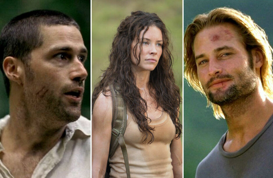 OVERLEVDE FLYKRASJ: Matthew Fox, Evangeline Lilly og Josh Holloway spilte tre av karakterene som måtte overleve på en øde øy i «Lost». FOTO: ABC