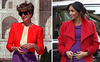 Hertuginne Meghan med nydelig gest til sin avdøde svigermor prinsesse Diana