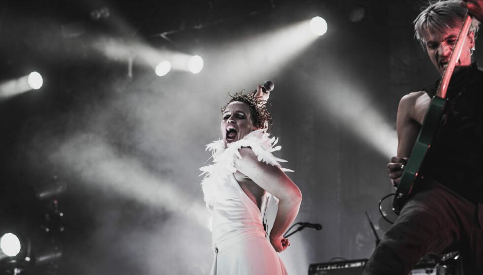 NY GIV: Gunnhild Sundli at hun i dag har en helt annen glede ved å stå på scenen. Her fra Pstereo 2018. FOTO: Arne Vidar Stoltenberg