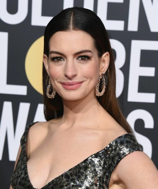 HOVEDPERSON: Anne Hathaway (36) skal ifølge Variety spille sjefsheksen i den nye versjonen av «Heksene». FOTO: NTB scanpix