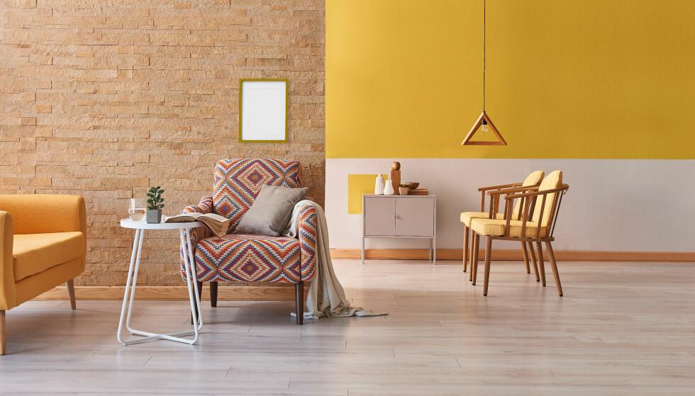 FARGERIKT HJEM: Ingrid Fetell Lee mener at et mer fargerikt hjem kan gjøre mye med lykkefølelsen din. Kanskje på tide å male stua i noen friske farger? FOTO: NTB Scanpix