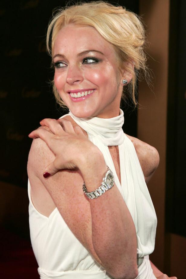 2005: Lindsay Lohan. Foto: Scanpix
