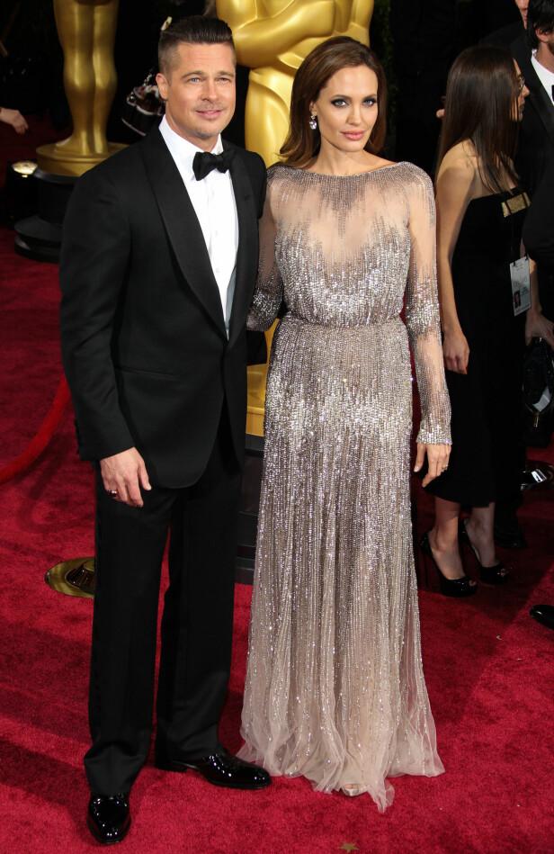 BRUDD ETTER 11 ÅR: Angelina Jolie og Brad Pitt var et av Hollywoods mest solide par. I 2016 tok Angelina Jolie ut skilsmisse. Foto: FOTO: NTB Scanpix