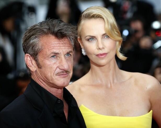 BRUDD I 2015: Sean Penn og Charlize Theron gikk fra hverandre for fire år siden. Foto: Scanpix