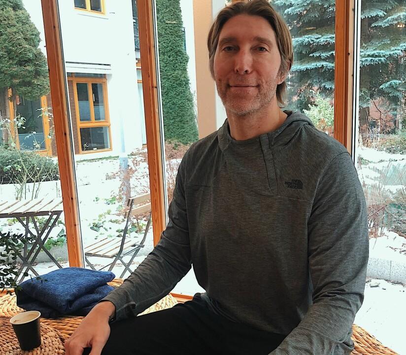 SEBASTIEN LAGREE: Da Lagree var 21 år trente han 40 timer i uken og var på treningssenteret tre ganger om dagen. Han deltok på 12 aerobictimer i løpet av en uke for å forbrenne bort fett. Dagen min startet fra halv seks på morgenen til midnatt, og alt han hadde i tankene var neste repetisjon på treningsøvelsen. FOTO: Silje Helgesen