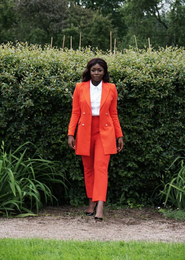 STYRKE: En gang kjempet hun med egen flerkulturelle identitet - i dag holder hun foredrag om fordelene. -Om jeg deler historien min tusen ganger, og fem blir inspirert, er jeg kjempeglad. FOTO: Cedric Lynne