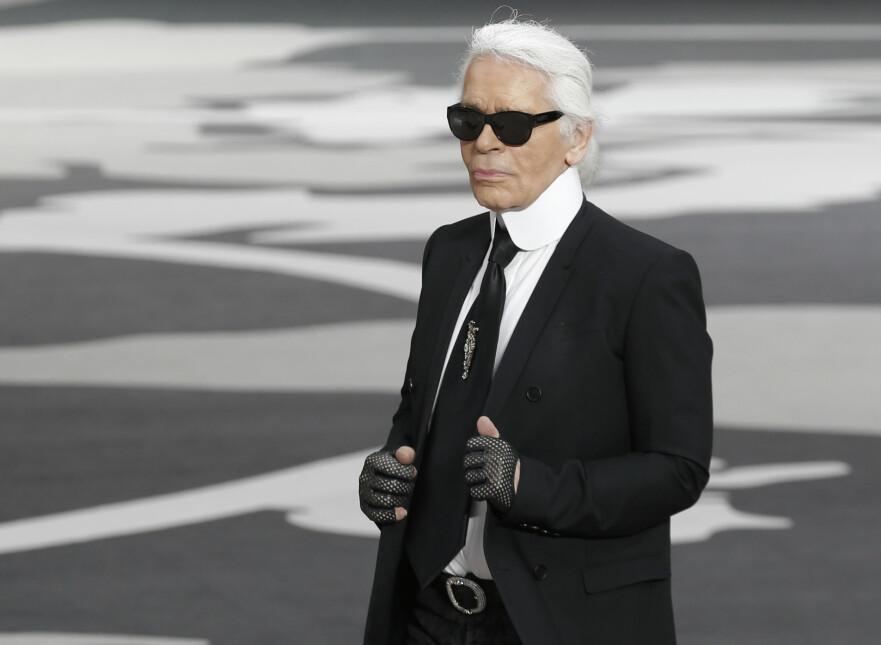 KARL LAGERFELD: Den kjente designeren gikk bort 19. februar, 85 år gammel. Foto: Scanpix