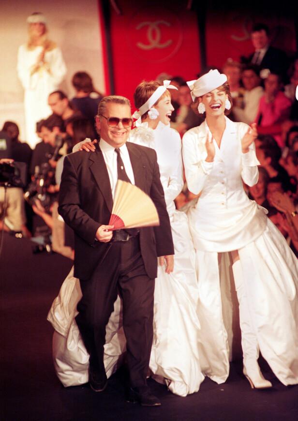 Chanel, Paris 1990. Foto: AP Photo/Remy de la Mauviniere