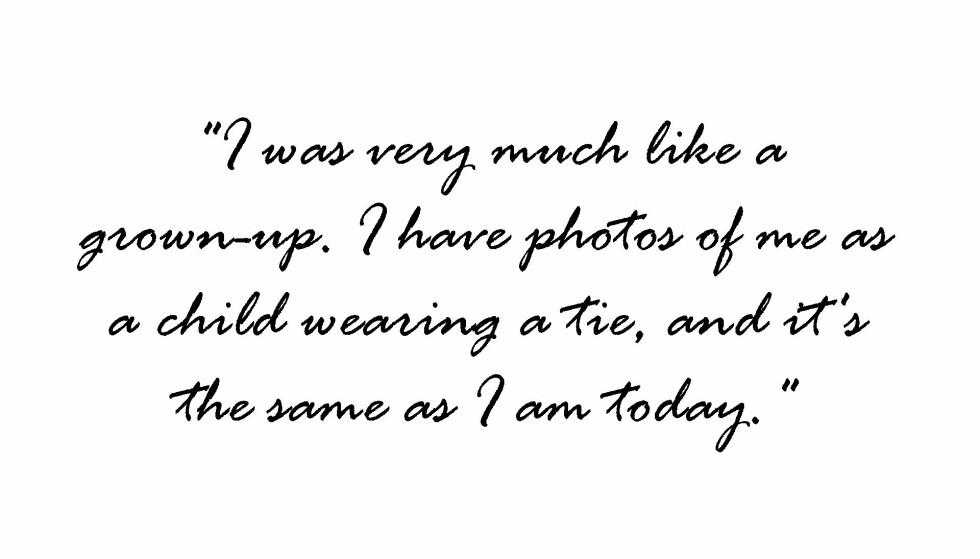Sitat Karl Lagerfeld.
