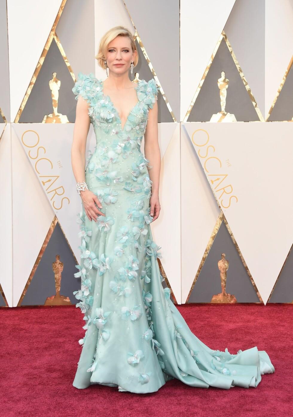 Cate Blanchett på Oscar-utdelingen i 2016. Foto: NTB Scanpix