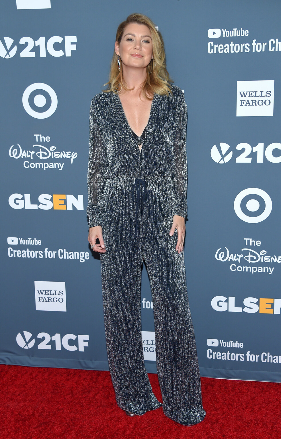 Ellen Pompeo på Respect Awards i 2018. Foto: NTB Scanpix