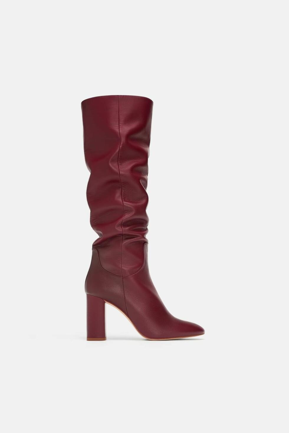 Støvletter fra Zara |500,-| https://www.zara.com/no/no/h%C3%B8yh%C3%A6lt-skinnst%C3%B8vel-p16015301.html?v1=8739122&v2=1177663