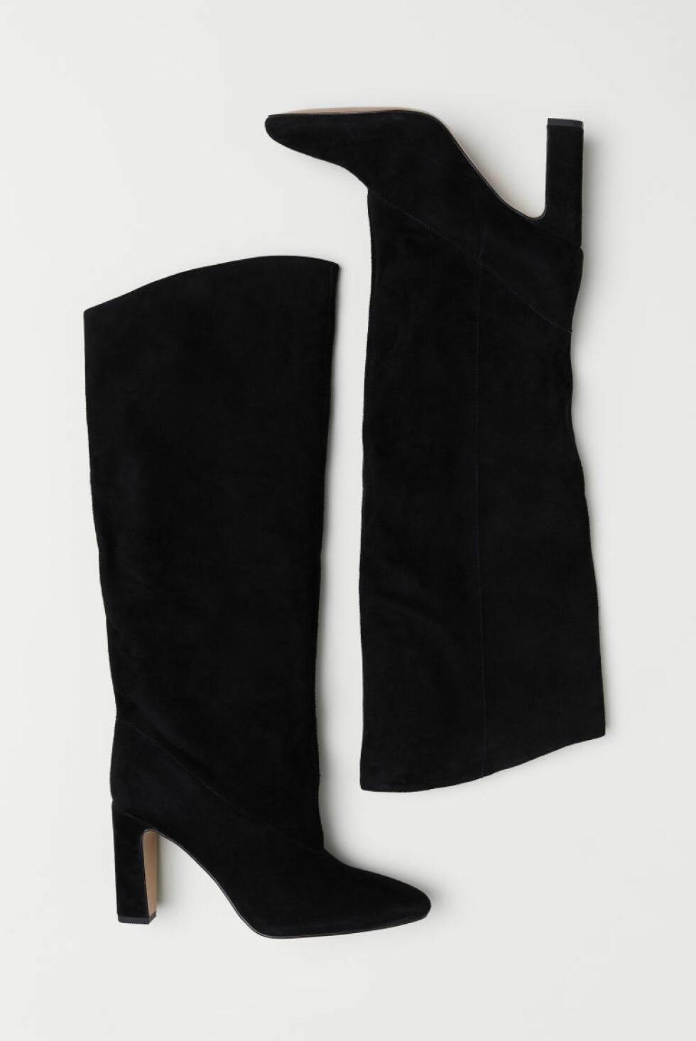 Boots i semsket skinn fra H&M |800,-| https://www2.hm.com/no_no/productpage.0521978001.html