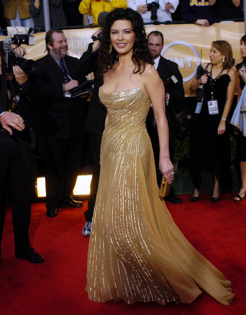 Zeta-Jones på Screen Actors Guild Awards i 2004. Foto: NTB Scanpix