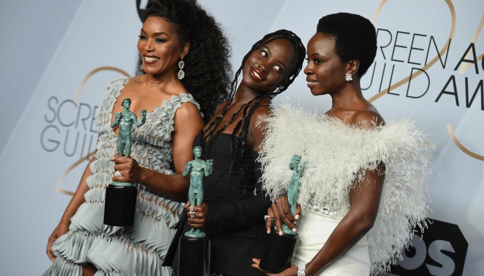 SAG AWARDS: Black Panther-stjernene stakk av med noen gjeve priser. Foto: Scanpix