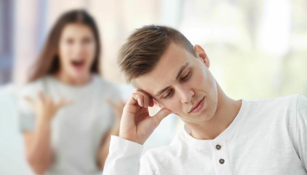 SNAKKE SENERE: Hvis du hele tiden unngår samtaler, gjør det mer skade enn samtalen i seg selv ville gjort. FOTO: NTB Scanpix