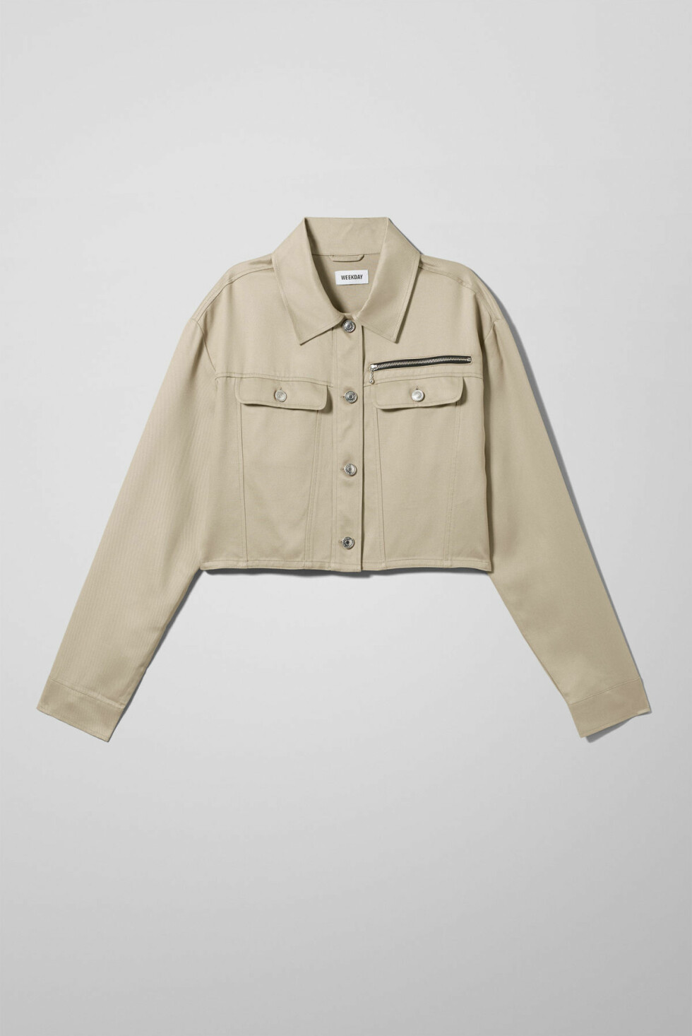 Jakke fra Weekday |600,-| https://www.weekday.com/en_sek/women/categories/new-arrivals/product.carin-shirt-jacket-beige.0709682001.html