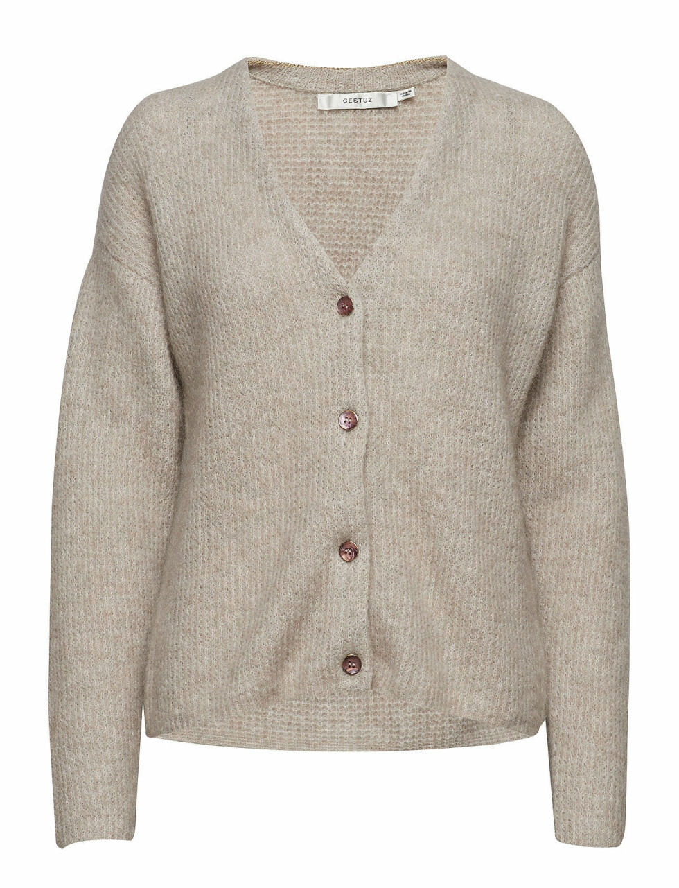 Kardigan fra Gestuz |1500,-| https://www.boozt.com/no/no/gestuz/debbie-v-neck-cardigan-ms19_18945923/18945939?path=67362&navId=67362&sNavId=67378&group=listing&position=1000000