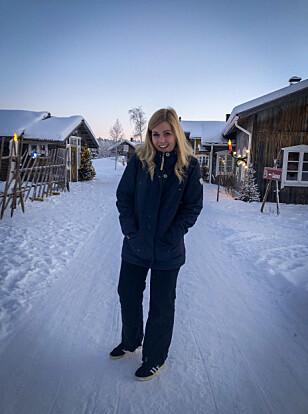 SNEAKERS I 30 MINUSGRADER: Jeg følte meg ikke sånn kjempesmart da jeg vandret rundt i vinterland i disse skoene. FOTO: Privat