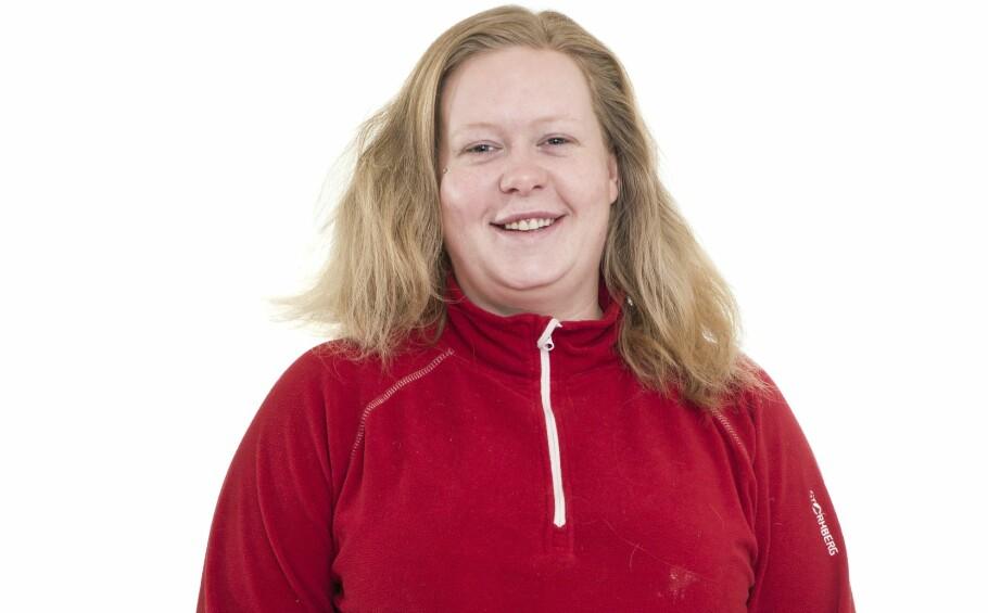 BLI NY: Slik så Silje Margrethe ut før hun ble ny med KK. FOTO: Astrid Waller