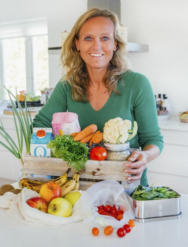 MATREDDER: Mette Nygard Havre og familien har inspirert mange andre familier til å også bli matreddere. Foto: