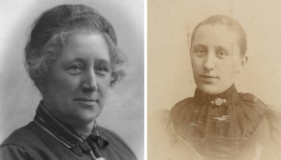 NÆRE BÅND: Elise Wisting, kaptein Oscar Wistings kone, fikk i oppdrag fra Roald Amundsen å passe på jentene - både under oppholdet i Seattle og New York, og også i Norge. FOTO: Privat // Utlånt av Alexander Wisting
