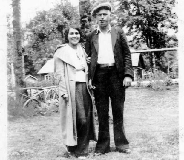GIFT MED EN AMUNDSEN: Camilla Carpendale giftet seg med den norskættede amerikaneren Olav Amundsen - og ble dermed hetende Camilla Amundsen resten av livet. Det er ikke bekreftet om denne mannen var i slekt med den norske polfareren Roald Amundsen. FOTO: Privat // Utlånt av Alexander Wisting