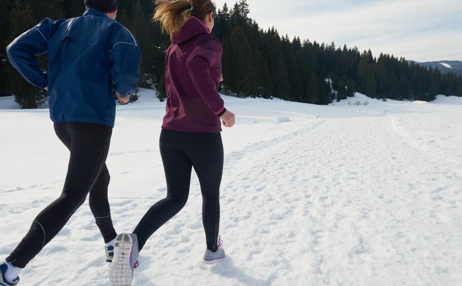 EFFEKTIV TRENING: Å løpe kan gi effekt etter bare noen minutter. FOTO: NTB Scanpix