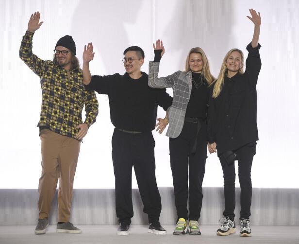 Holzweiler-gjengen. Foto: Copenhagen Fashion Week