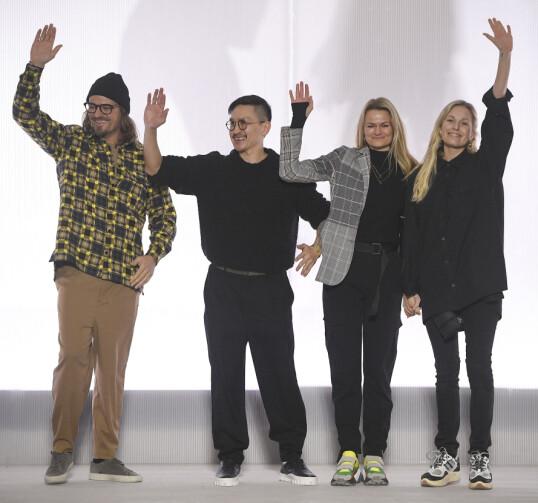 <strong>AHA-OPPLEVELSE:</strong> Susanne Holzweiler mener det siste halvåret har fått mange til å stoppe opp og tenke litt. Foto: Copenhagen Fashion Week