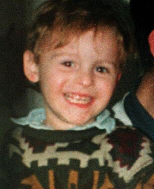 DREPT: Den 12. februar 1993 ble den britiske gutten James Bulger drept av to gutter på 10 år. Lille James var bare en måned fra å fylle tre år. FOTO: NTB Scanpix