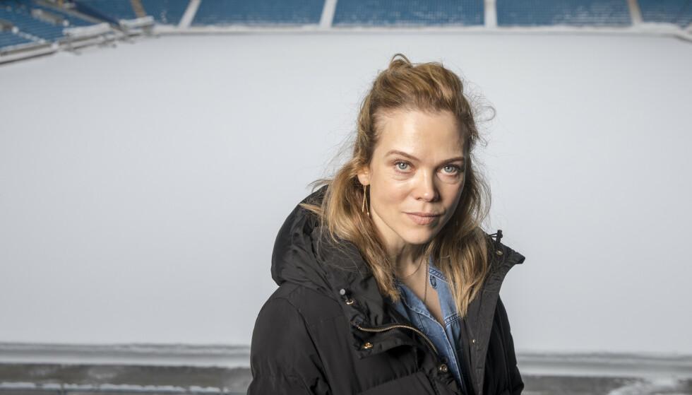 <strong>SETTER DAGSORDEN:</strong> - Jeg synes det er stas å være en del av noe som ikke bare er underholdning, sier Heimebane-skuespiller Ane Dahl Torp til KK. FOTO: NTB Scanpix