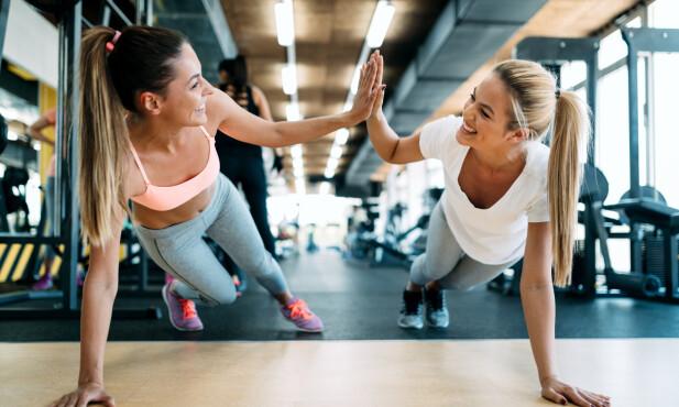 IKKE PUSH DEG FOR HARDT: - Ikke push deg til den hardeste treningen hvis du er i veldig dårlig form. All trening vil ha effekt, basis styrketrening og lav intensitet vil være en god start, sier eksperten. FOTO: NTB Scanpix