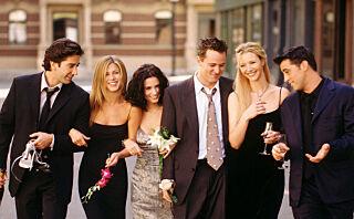 «Friends»-stjernene som datet i virkeligheten