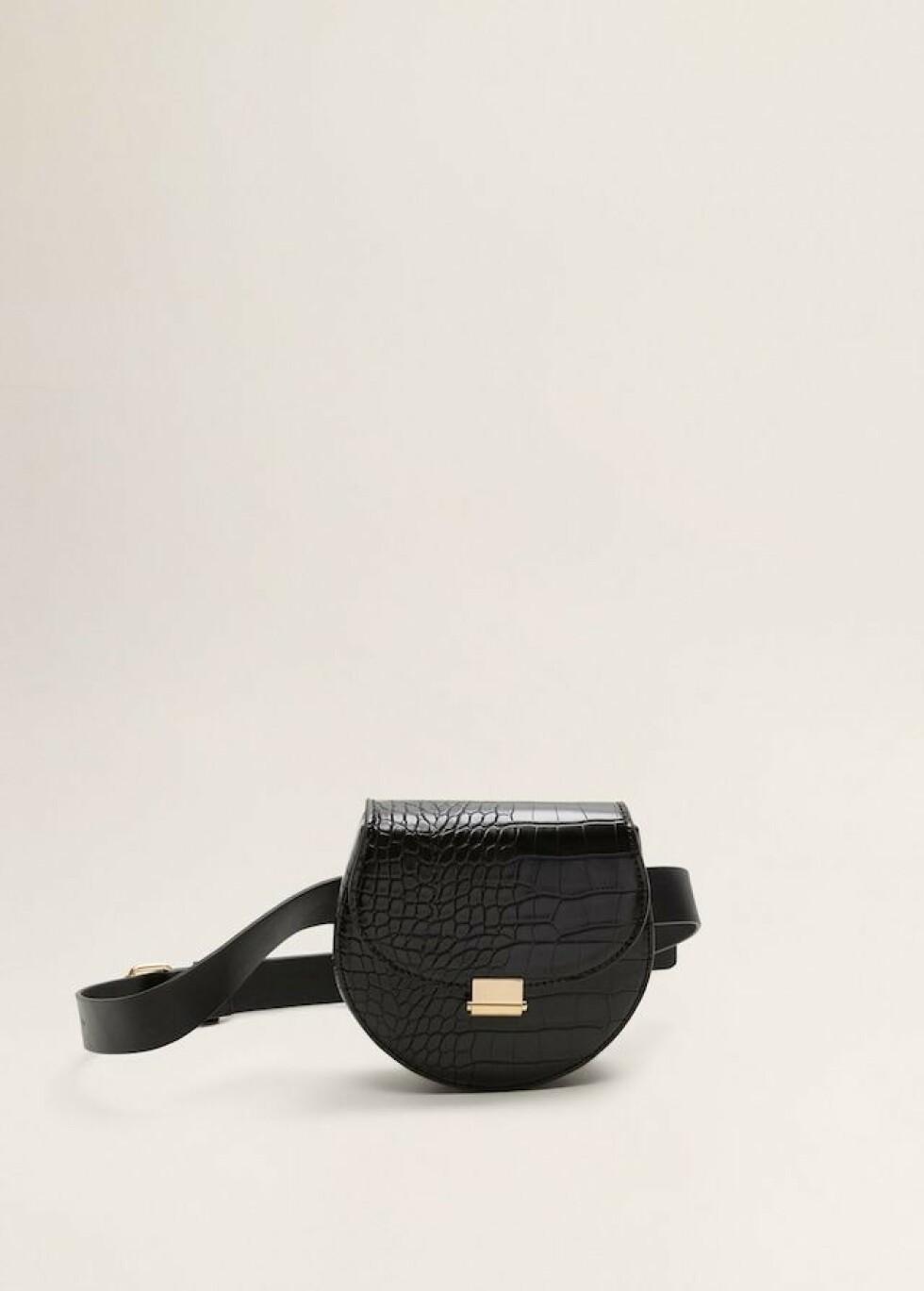 Belteveske fra Mango |199,-| https://shop.mango.com/no-en/women/bags-money-belts/animal-print-belt-bag_43050819.html?c=99&n=1&s=accesorios_she.accesorio;40,340,440