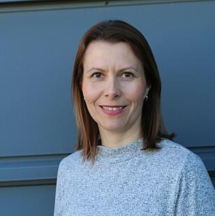 VURDER FORHOLDENE: Ingeborg Dahl-Hilstad mener hjelm kan være lurt i enkelte tilfeller. FOTO: Personskadeforbundet