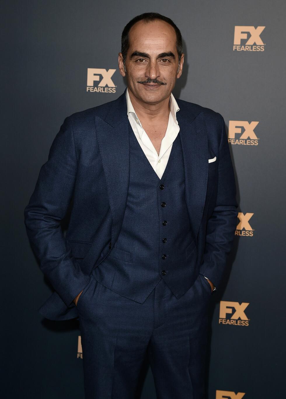 Navid Negahban (50) skal spille Jasmines far og Agrabahs øverste leder, Sultan.