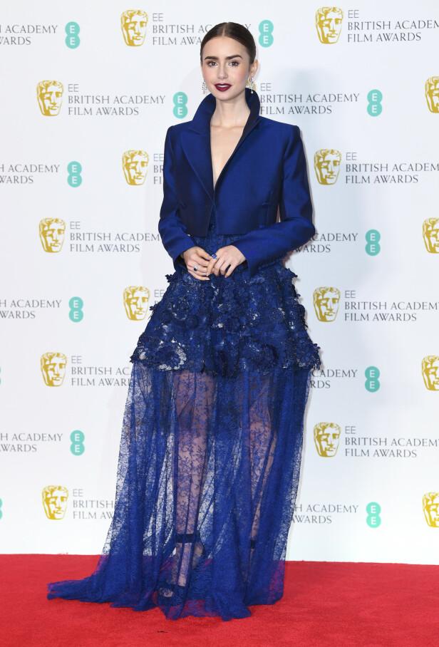Lily Collins. Foto: Scanpix