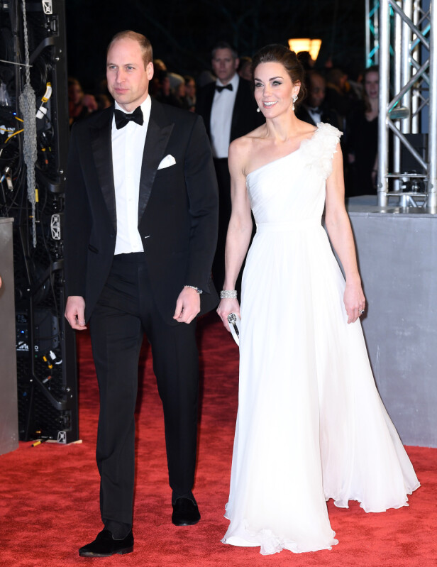 Prins William og hertuginne Kate. Foto: Scanpix