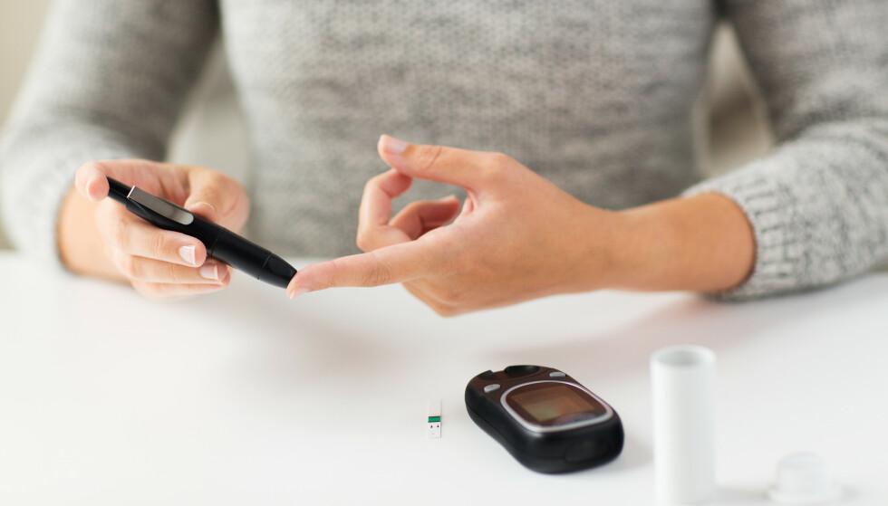 DIABETES: 200 000 har påvist diabetes. Mange vet ikke at de har det. FOTO: NTB Scanpix