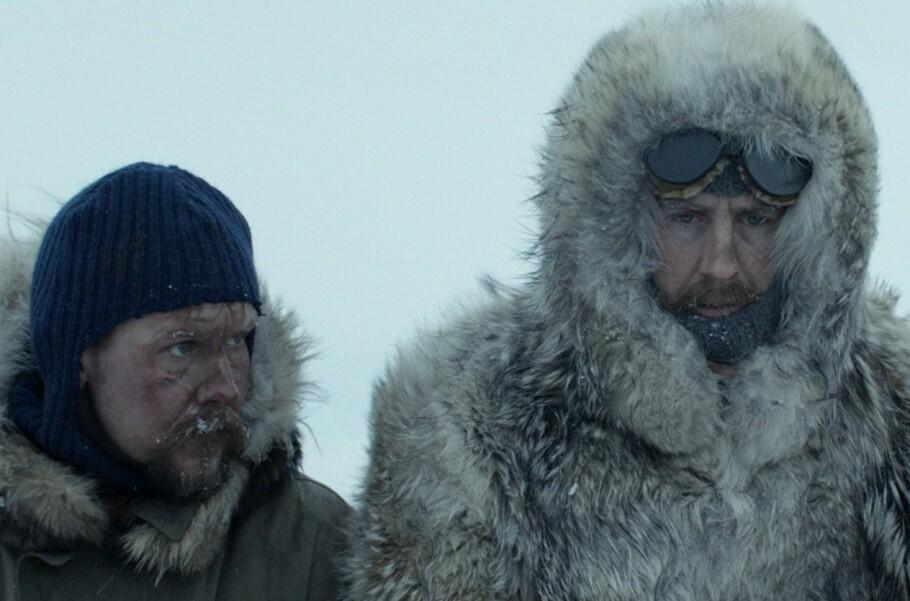EN KALD AFFÆRE: Filmen om Roald Amundsen får deg til å sette pris på at du befinner deg i en varm kinosal. FOTO: Motion Blur / SF Studios