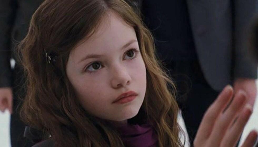 DEN GANG DA: Slik så Mackenzie Foy ut da hun spilte i «Twilight» i 2011 og 2012. FOTO: Summit Entertainment