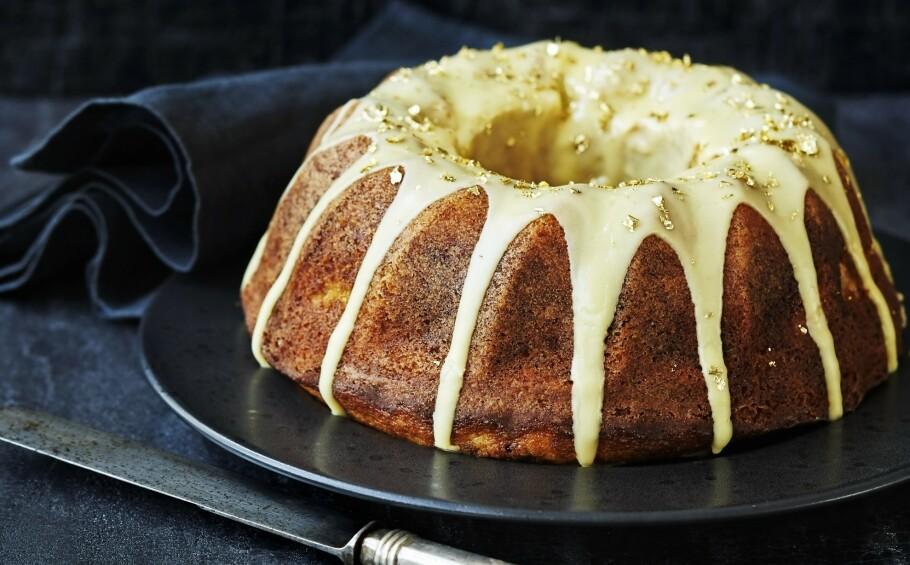 BANANKAKE: Denne kaken kan du nesten spise med god samvittighet. FOTO: Betina Hastoft