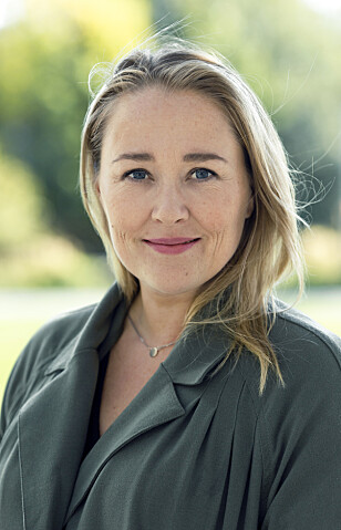 OVERGANGSALDER: Birgitte Hoff Lysholm har skrevet bok om temaet, «Heit - en guide til overgangsalderen», som kom ut i januar. FOTO: Privat
