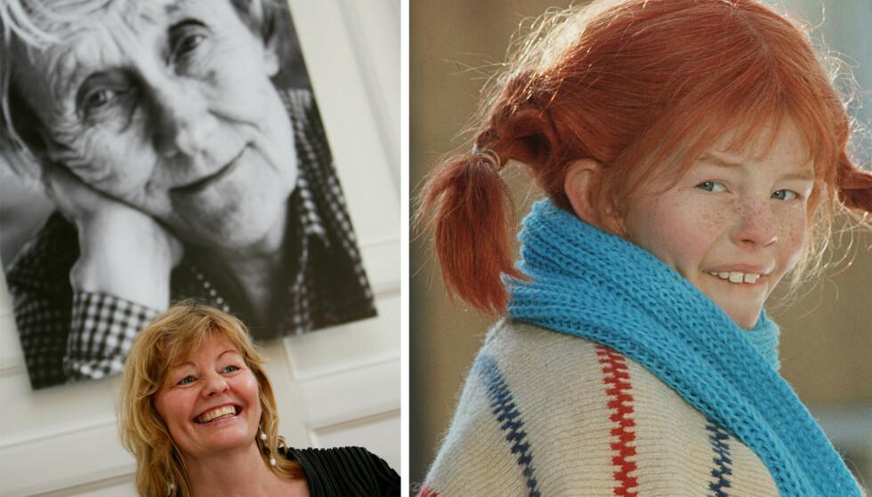 IKONISK: Astrid Lindgrens karakter Pippi Langstrømpe er kjent over hele verden. Det var Inger Nilsson som spilte i de populære filmene fra 60- og 70-tallet. FOTO: NTB Scanpix