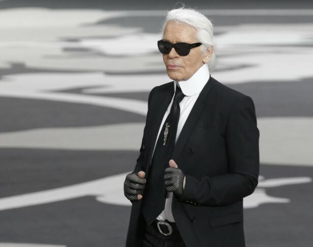 Karl Lagerfeld. Foto: Scanpix