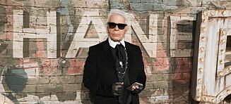 Her er en av Karl Lagerfelds siste kolleksjoner