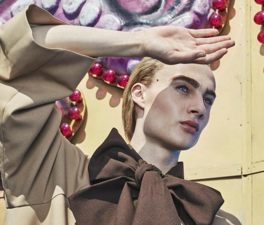 VINCENT BEIER: Vogue spår at den 20 år gamle modellen vil bli en stor stjerne. Foto: Andreas Houmann