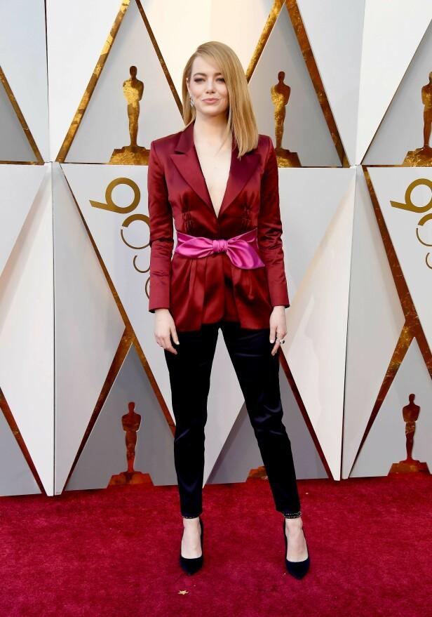 Emma Stone. Oscar 2019. Foto: Scanpix