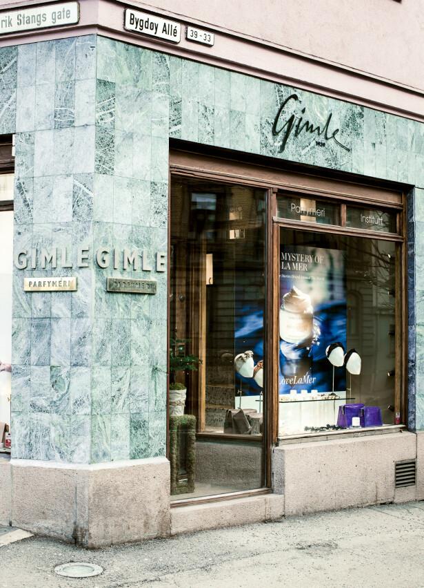 BUTIKKEN PÅ HJØRNET: Siden 1939 har Gimle Parfymeri ligget på samme hjørne sentralt på Frogner i Oslo.